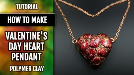 Free Tutorial: Valentine's Day Gift – LOVE Heart Pendant