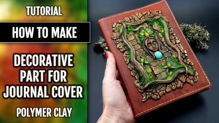 Free Tutorial: A Praying Forest Goddess for  Book Cover