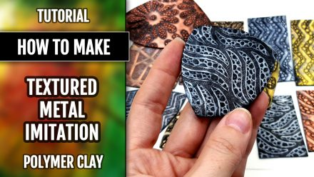 Patron $3+ Video Tutorial: Textured Metal Imitation from PC