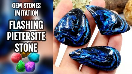 Patron $15+ Video Tutorial: Flashing Pietersite Stone Imitation