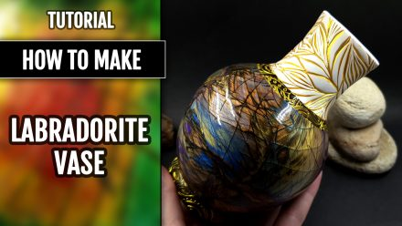 Patron $15+ Video Tutorial: Vase in Stone Imitation Technique