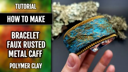 Patron $10+ Video Tutorial: Faux Rusted Metal or Rock Cuff