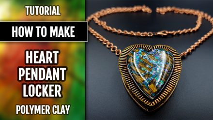 Patron $35+ Video Tutorial: Heart Locker Pendant with Boulder Opal
