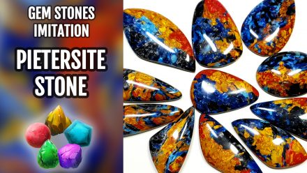 Patron $10+ Video Tutorial: New Polymer clay Faux Pietersite Stone