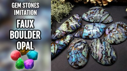 Patron $10+ Video Tutorial: Realistic Boulder Opal from polymer clay