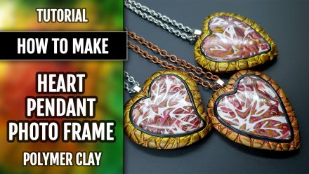 Patron $5+ Video Tutorial: Photo Heart Pendant – Valentin's Day Gift
