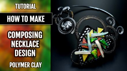 "Patron $15+ Tutorial: Composing unique necklace design ""Picasso Style"""