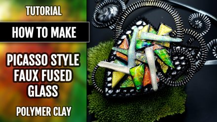 Patron $10+ Tutorial: How to make Picasso Style Faux Fused Glass
