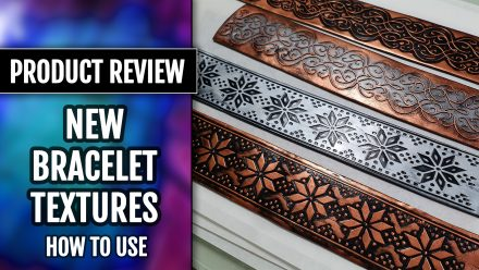 Product Review: New Textures for Making Polymer Clay Bracelets