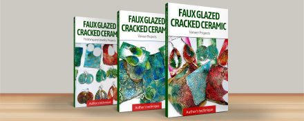 ($35+) 3 Video tutorials: Faux Glazed Cracked Ceramic – Surface Technique