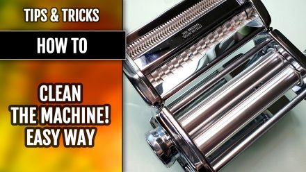 Tips&Tricks | Easy way: How to clean your pasta machine! Quick tutorial!